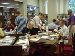 Volunteers at the Library